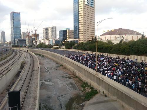 Ethiopian-Israelis protest in Tel Aviv