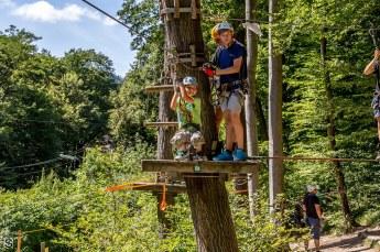 Familiensommer 2016 - Kletterpark