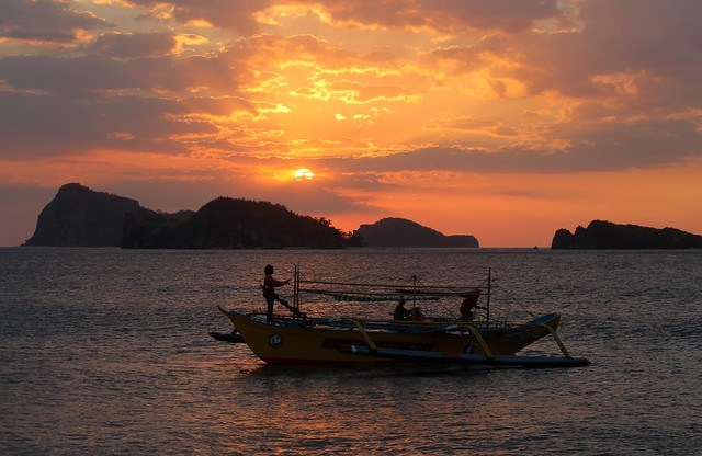 Capones Island Sunset