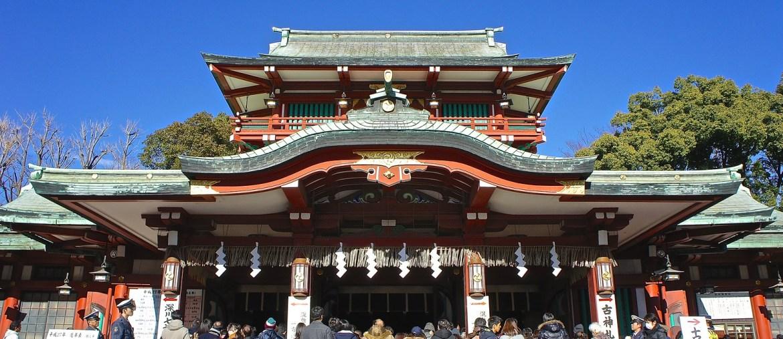 Tomioka Hachimangu Shrine at Monzen-nakacho