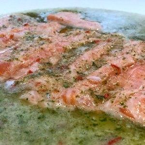 Cebiche de salmón