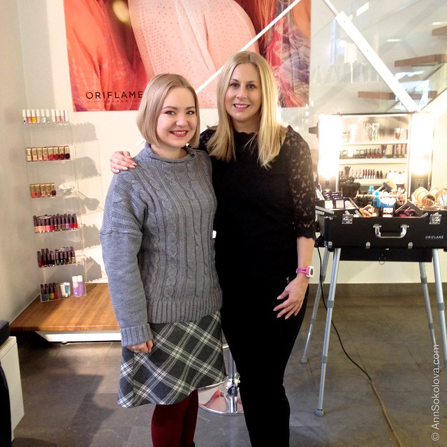 66 Oriflame Concept store in Stockholm Ann Sokolova and Linda Holling