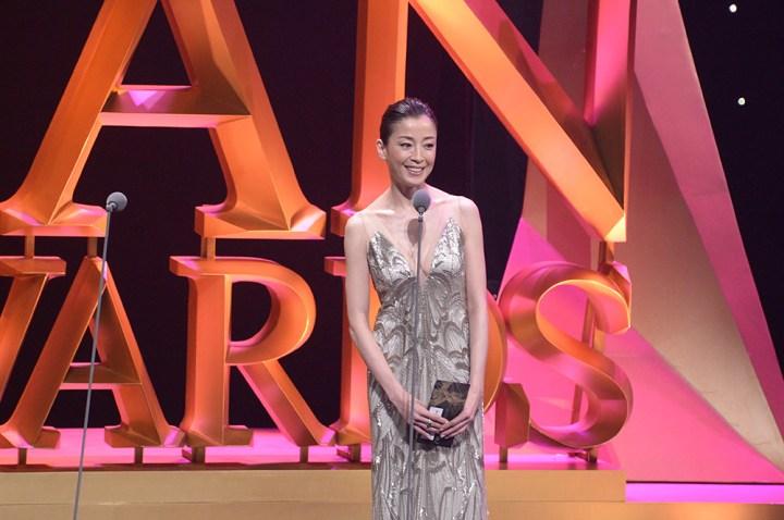 Rie Miyazawa at the 9th Asian Film Awards