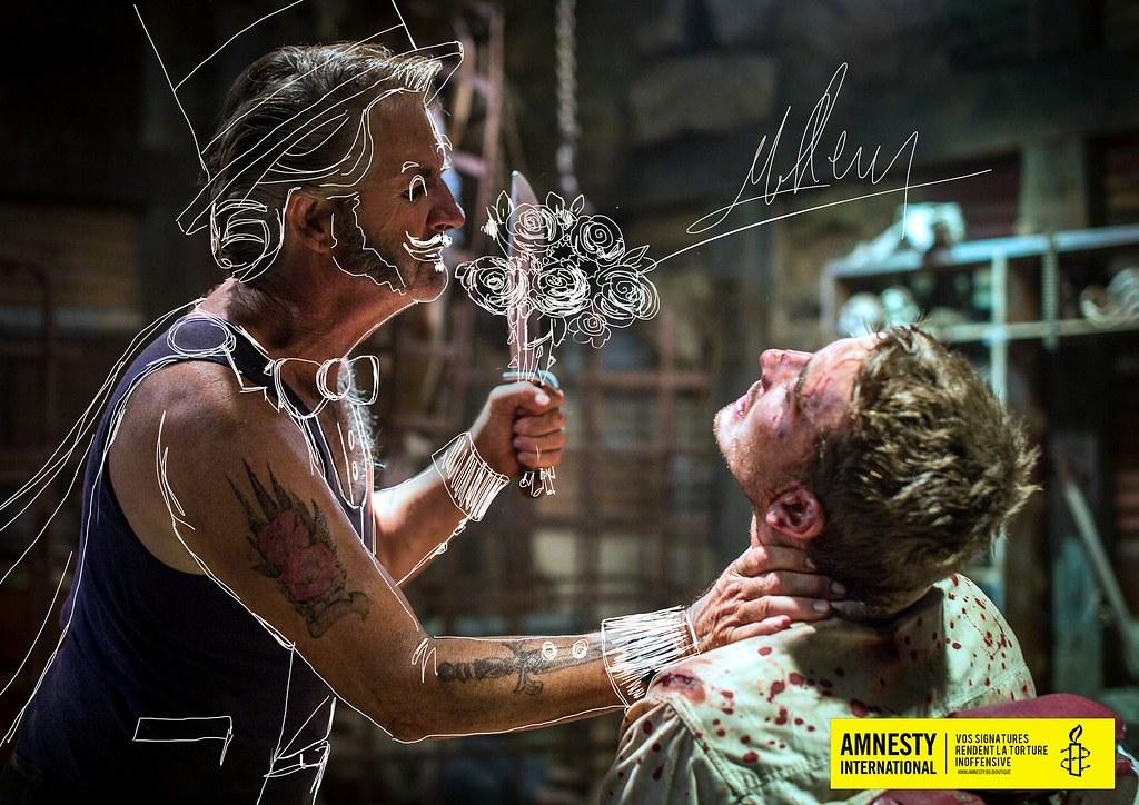 Amnesty International - Signatures against torture Flowers