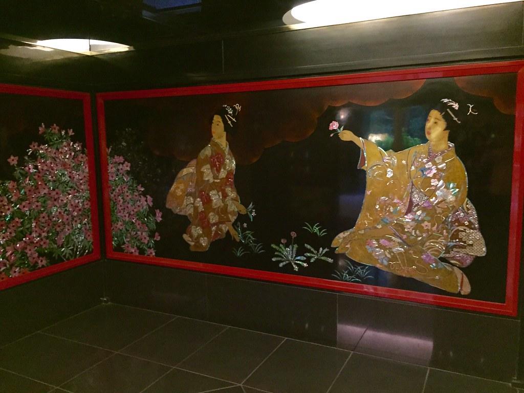 Meguro Gajoen Toilet entrance