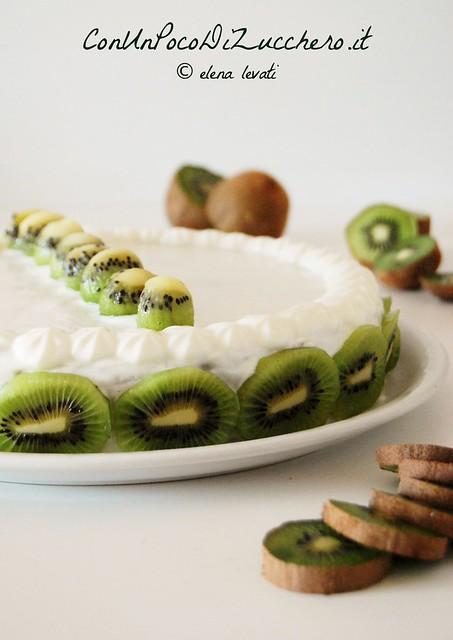 Torta i kiwi e ricotta - Kiwi cake