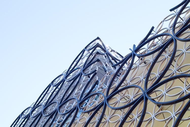 Garden Terrace Birmingham Library exterior