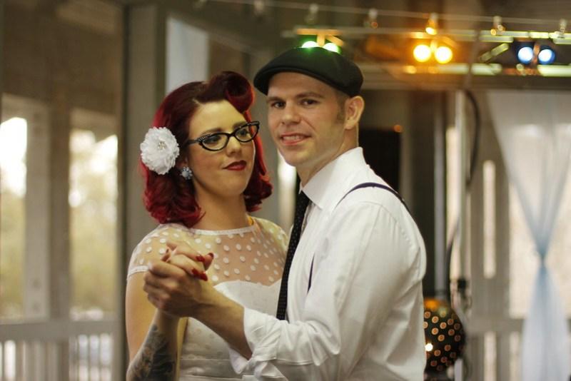 Rockabilly wedding from Offbeat Bride