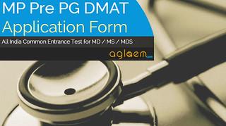 MP Pre PG DMAT Application Form