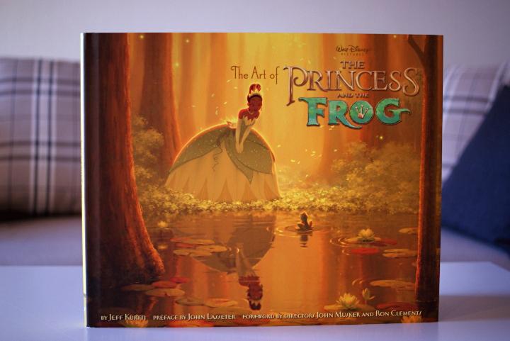 prinsessa ja sammakko taidekirja