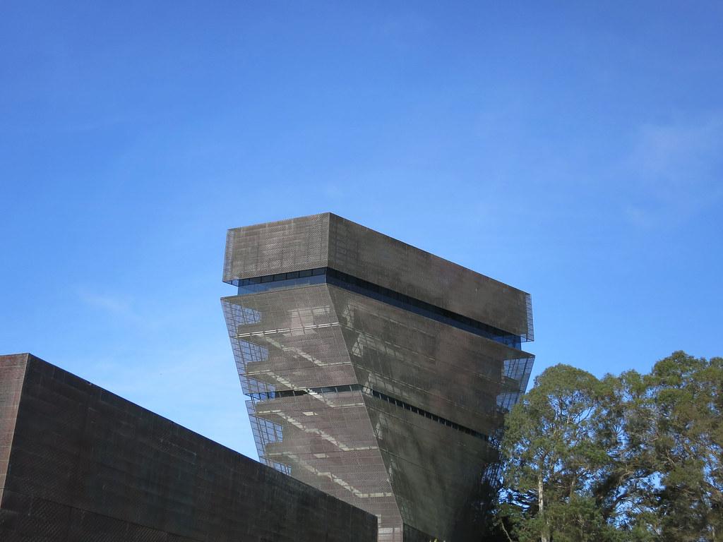de Young museum in Golden Gate Park