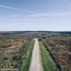 #walking #path on the #highest #point of #belgium #aerialphotography #vsco #vscocam #belgium_unite #igbelgium #landscape #botrange #travel #wanderlust #travelgram
