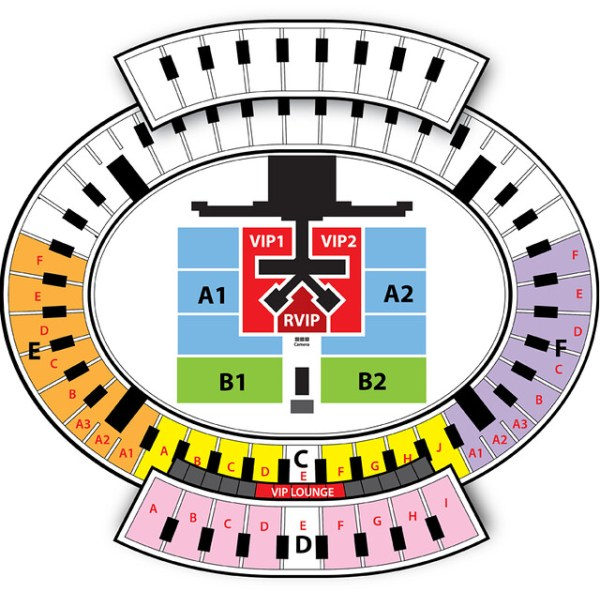 Music Bank in Hanoi Seating Plan sgXCLUSIVE