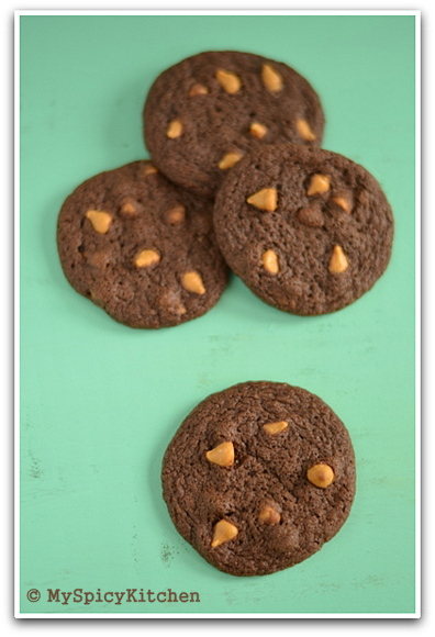 Fire up the oven, blogging marathon, baking marathon, butterscotch chip cookies,  chocolate cookies,
