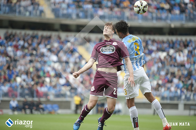 Liga BBVA. Málaga 1 - R.C.Deportivo 1