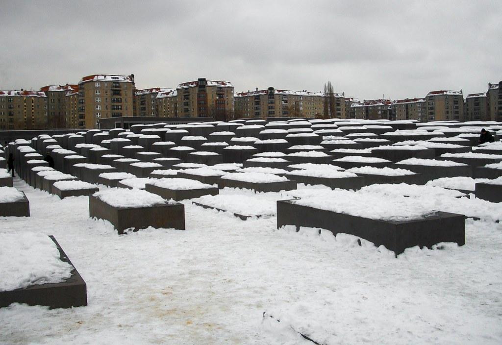 Det jødiske monument i Berlin, Tyskland