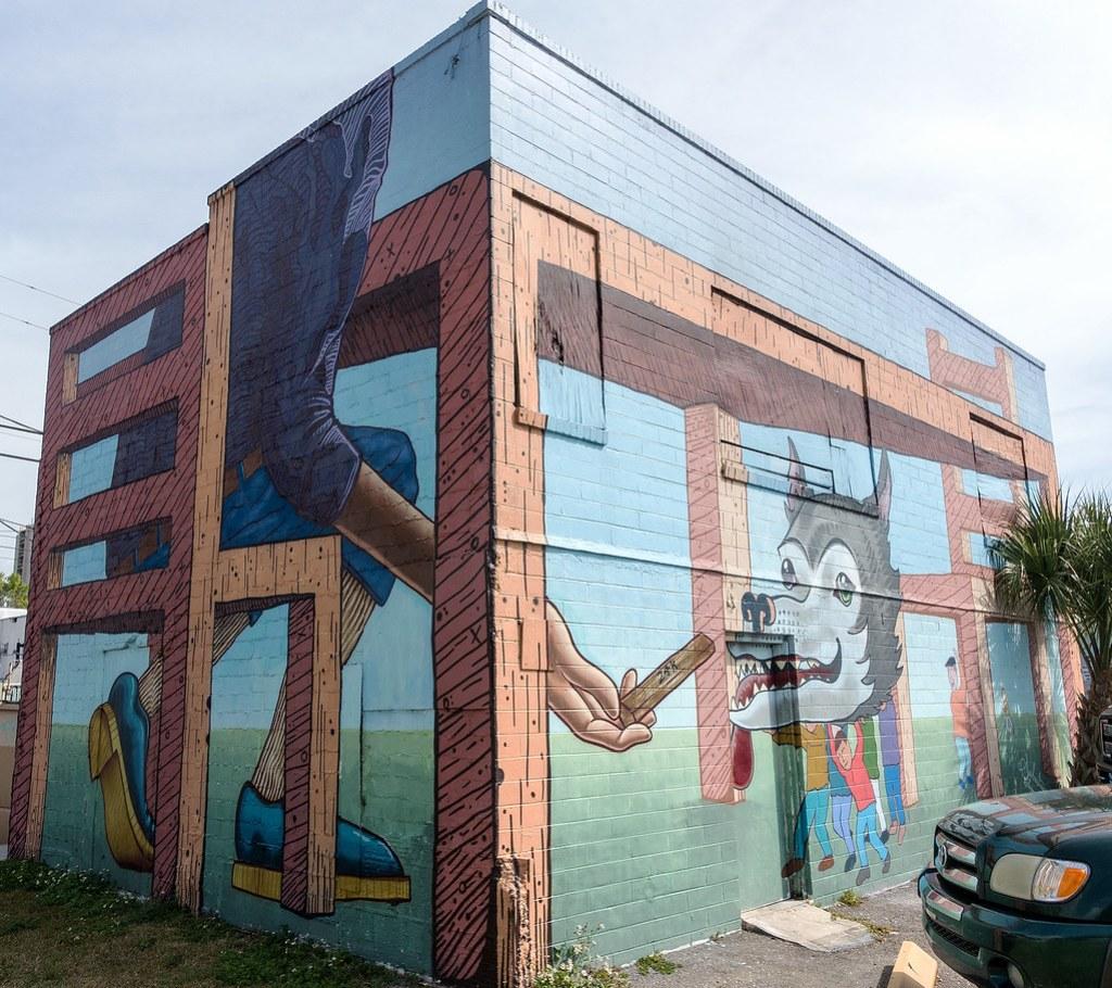 Street Art - St Petes 33