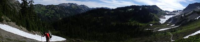 Climbing Hayden Pass