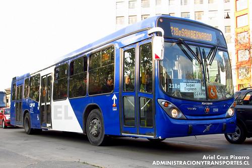 Transantiago - Subus Chile - Marcopolo Gran Viale / Volvo (CJRP60)