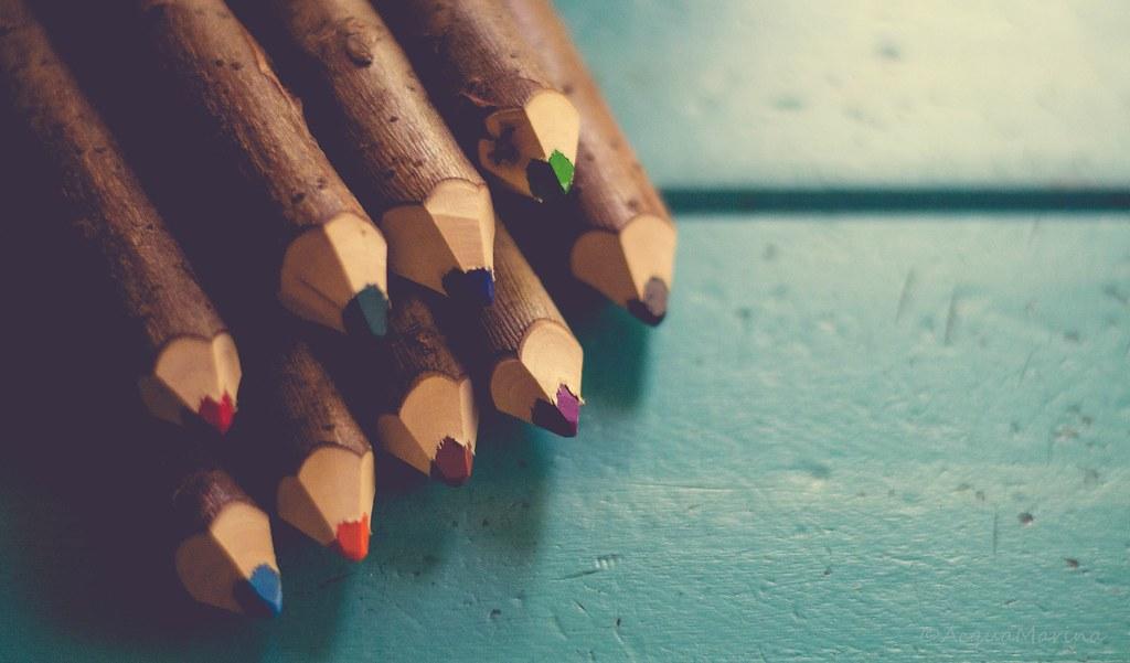 Imagen gratis de lápices de colores de madera