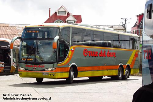 Cruz del Sur - Castro - Marcopolo Paradiso 1200 / Volvo (BGRJ48)