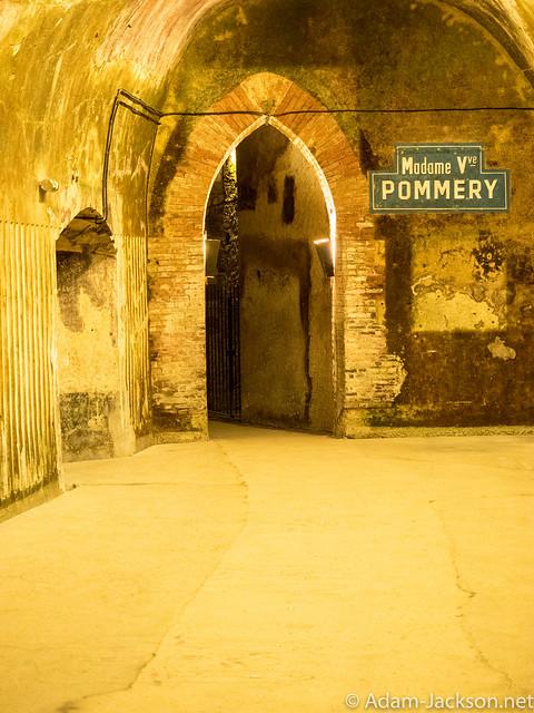 Champagne Pommery Tour & Tasting