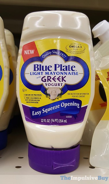 Blue Plate Light Mayonnaise with Greek Yogurt