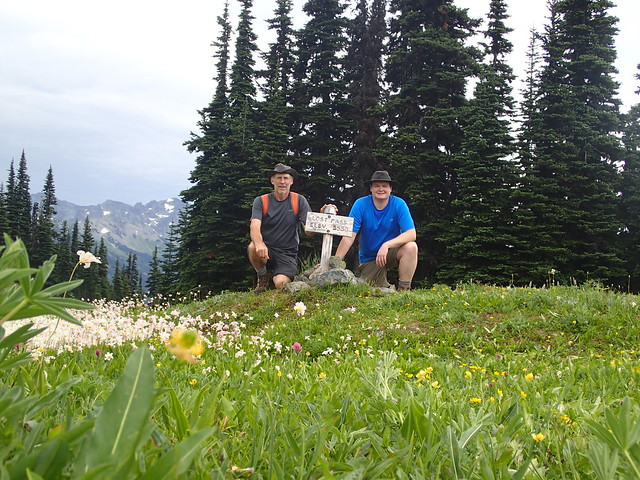 Dad And Me On Lost Pass