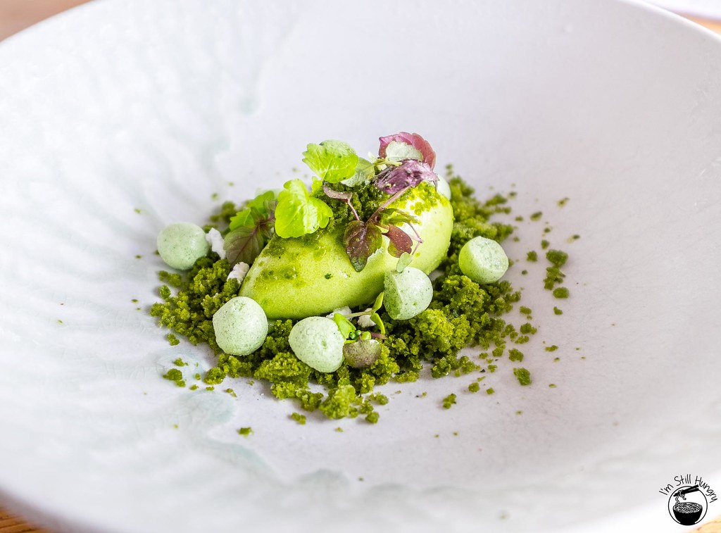 LuMi Dining Pyrmont Evergreen - sorrel, lemon basil, mint, shiso, parsley
