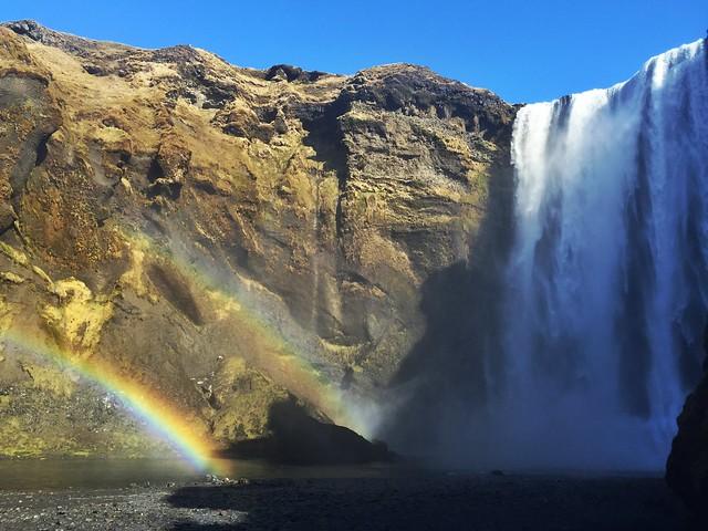 Cascada de Skógafoss (Islandia)