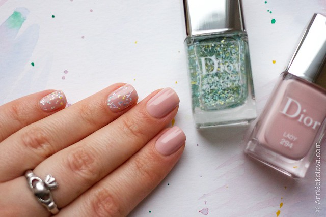 07 Dior #294 Lady + Dior Top Coat Eclosion