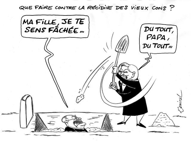 Récidive JM Le Pen