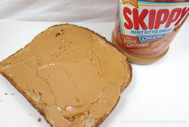 Skippy Limited Edition Creamy Peanut Butter Spread with Salted Caramel 2