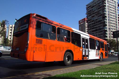 Transantiago - Express de Santiago Uno - Marcopolo Gran Viale / Volvo (FLXH47)