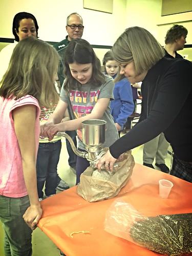 Bread Baking at School