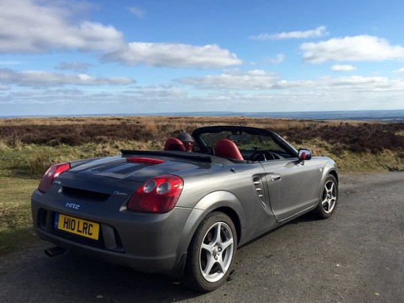MR2 on the North York Moors