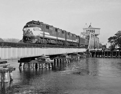 L&N, Pascagoula, Mississippi, 1955