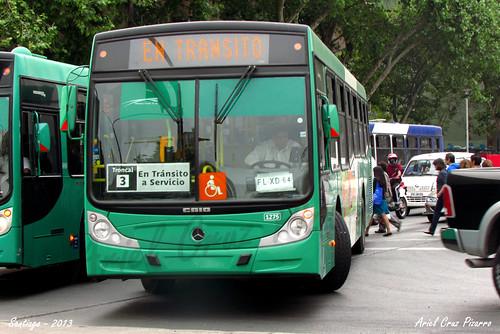 Transantiago - Buses Vule - Caio Mondego H / Mercedes Benz (FLXD64)