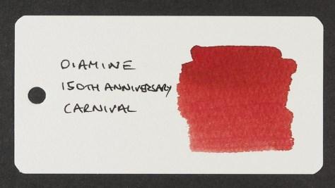 Diamine 150th Anniversary Carnival - Word Card