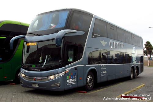 Ciktur - La Serena - Marcopolo Paradiso 1800 DD / Volvo (FHZD25)