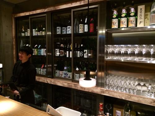 日本酒カウンター@Sake Fun ぞっこん。