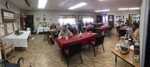Trail Magic central at the wonderful Warner Springs Community Center