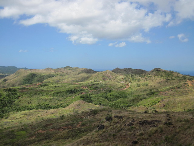 Picture from Mt. Tenjo, Guam