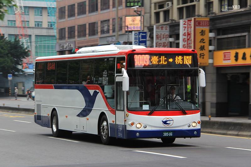 運輸誌Transport News: [臺北]指南客運9009線新車悄悄上路