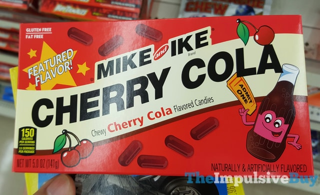 Mike and Ike Cherry Cola