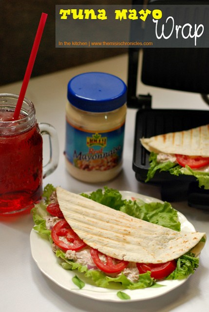 Tuna Mayo Wrap: A #JollyRealMayonnaiseRecipe