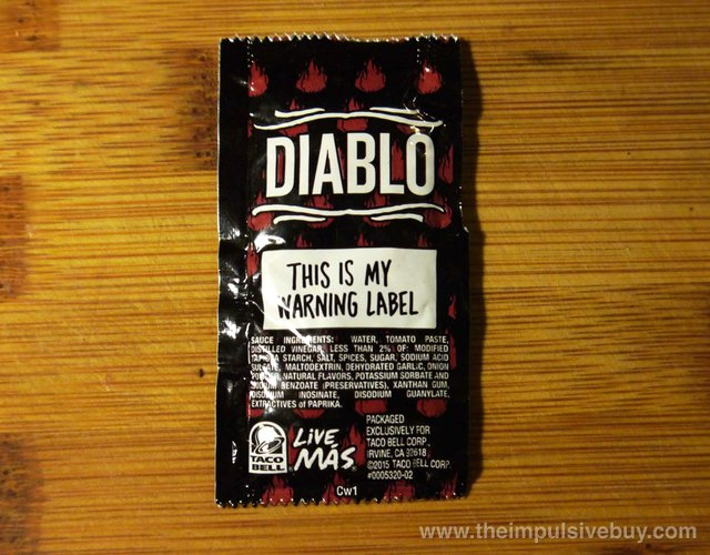 REVIEW: Taco Bell Diablo Sauce - The Impulsive Buy