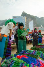Selling Hmong costumes
