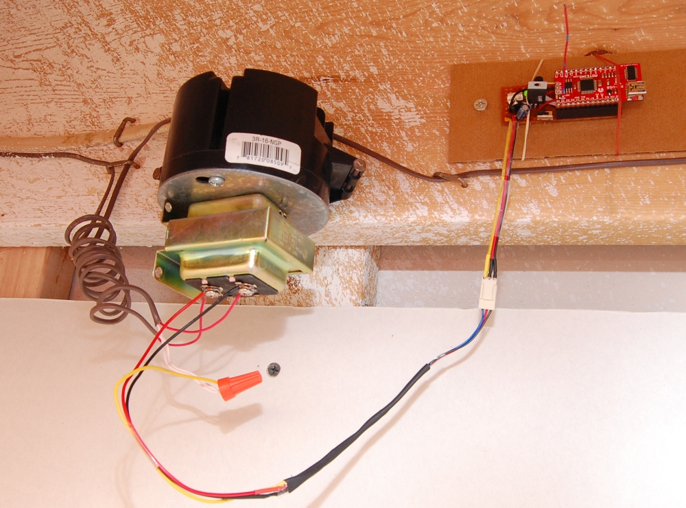Wiring Diagram Mains Doorbell