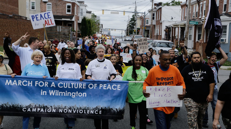 Wilmington,DE March for Peace 2016